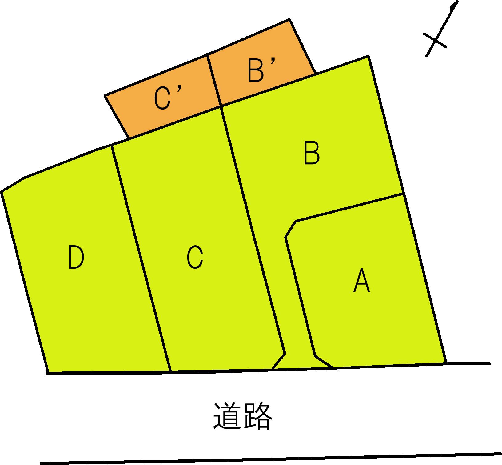 新橋分譲地形図